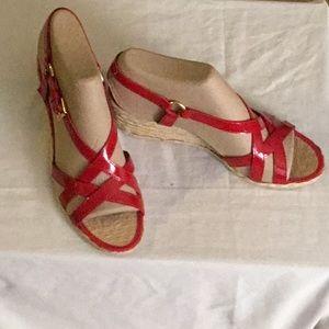LAUREN Ralph Lauren red sandals